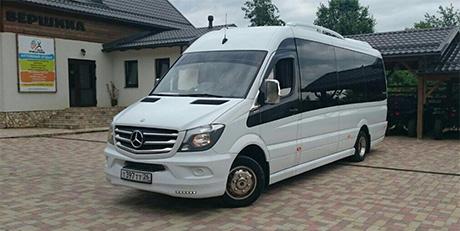 Заказать микроавтобус с водителем на свадьбу